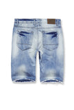 Jordan Craig - Big Men's Newcastle Denim Shorts 2.0 (Ice Blue)