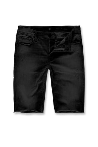 Jordan Craig - Edison Denim Shorts (Black Shadow)