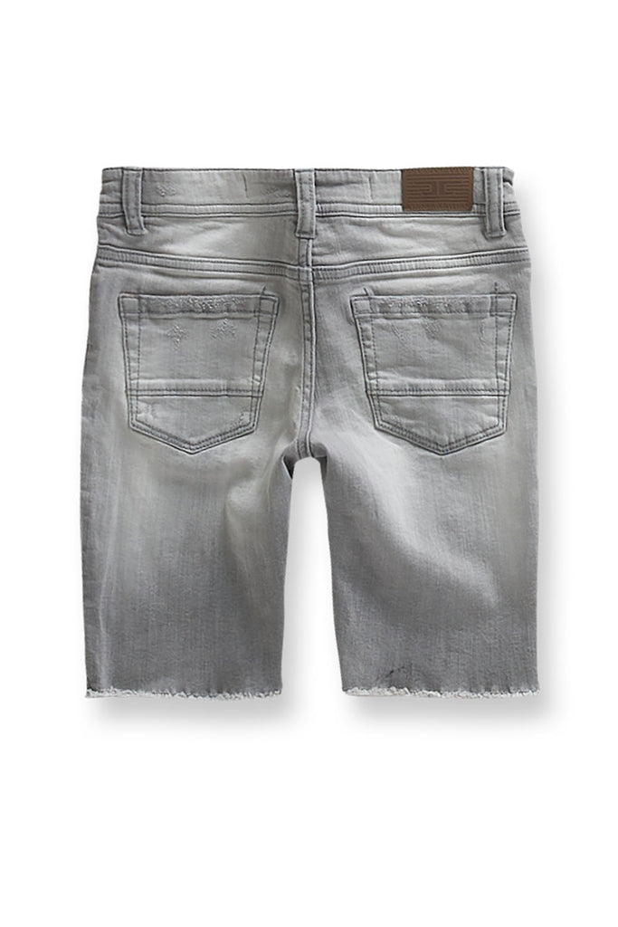 Jordan Craig - Kids Edison Denim Shorts (Cement Wash)