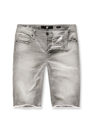 Jordan Craig - Edison Denim Shorts (Cement Wash)