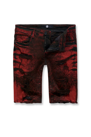 Hoboken Denim Shorts (Lava)