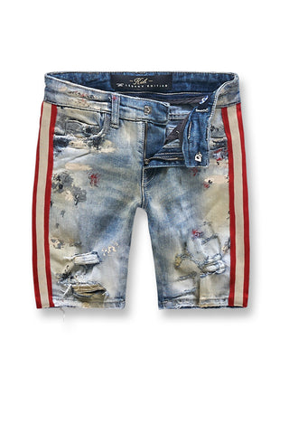 Kids Talladega Denim Shorts (Summer Blue)