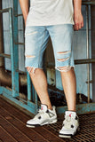 Jordan Craig - Cali Denim Shorts (Ice Blue)