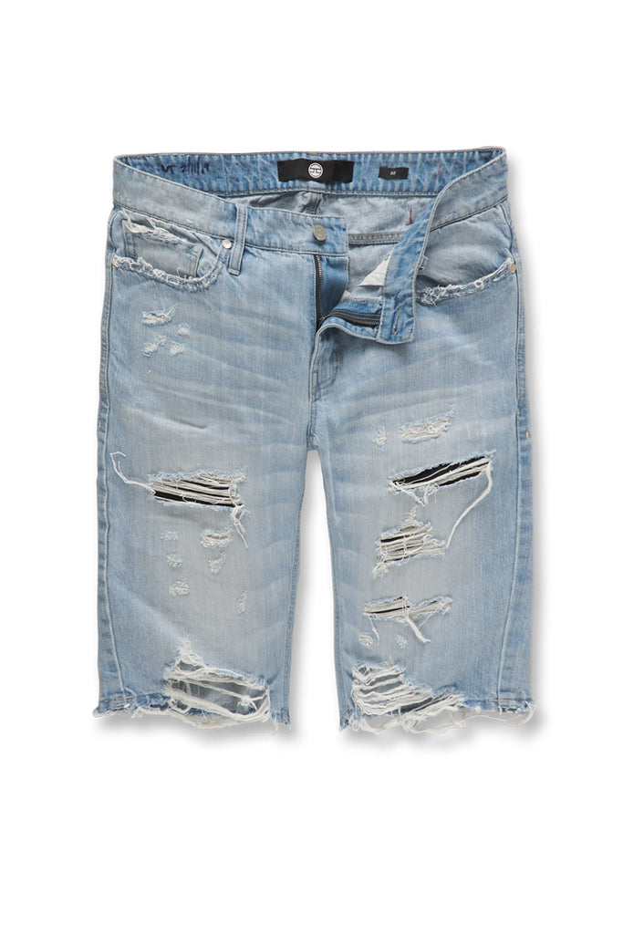 Jordan Craig - Cypress Distressed Denim Shorts (Arctic Wash)