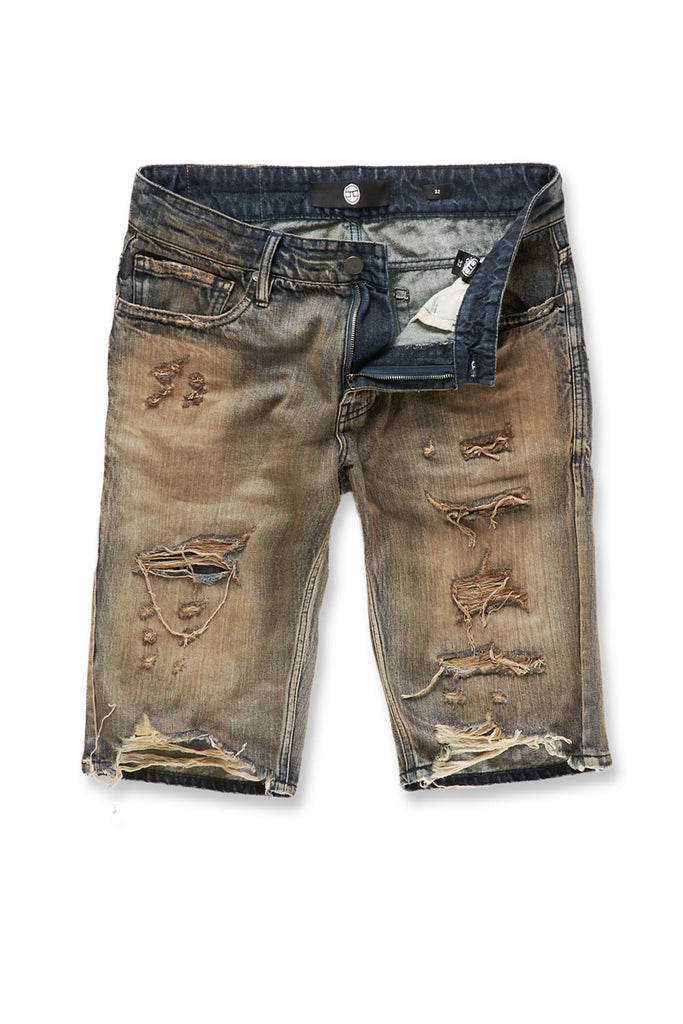 Jordan Craig - Cypress Distressed Denim Shorts (Copper Wash)