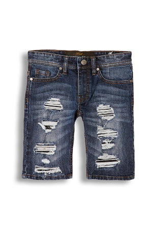 Jordan Craig - Kids Barracuda Denim Shorts (Medium Blue)