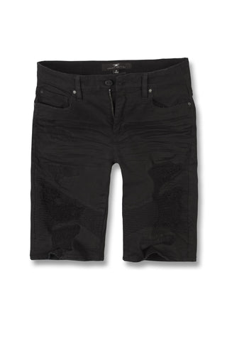 Jordan Craig - Big Men's Savior Biker Shorts (Black)