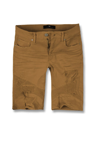 Jordan Craig - Big Men's Savior Biker Shorts (Wheat)