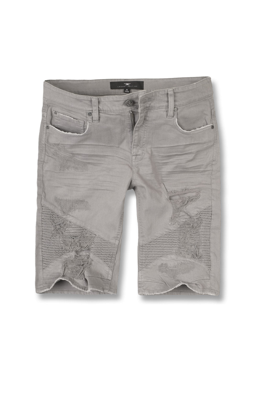 Jordan Craig - Kids Savior Biker Shorts (Light Grey)