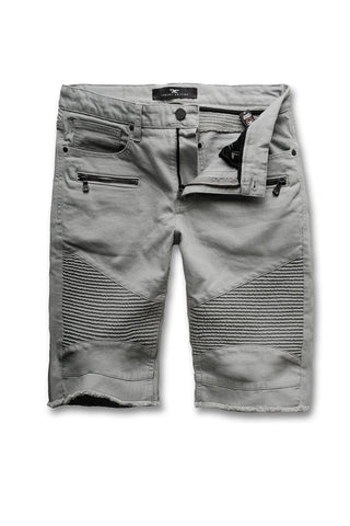 Jordan Craig - Capone Biker Shorts (Light Grey)