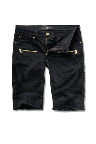 Jordan Craig - Big Men's Capone Biker Shorts (Black)
