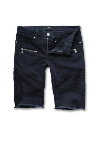 Jordan Craig - Big Men's Capone Biker Shorts (Navy)