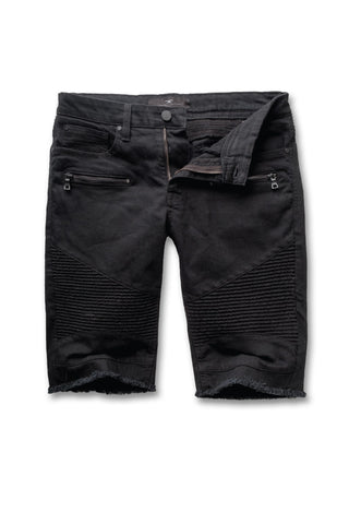 Jordan Craig - Big Men's Capone Biker Shorts (Jet Black)