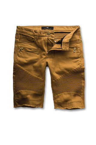 Jordan Craig - Big Men's Capone Biker Shorts (Wheat)