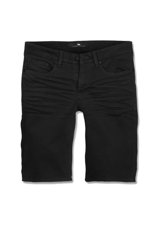 Jordan Craig - Big Men's Nashville Slub Shorts (Black)