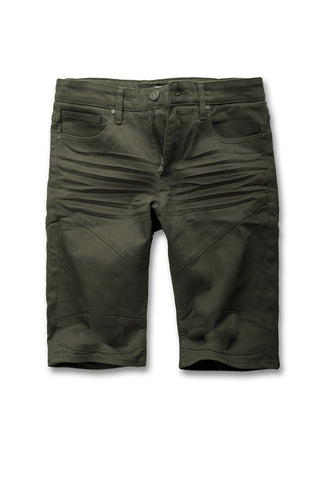 Jordan Craig - Louisville Moto Shorts (Army Green)