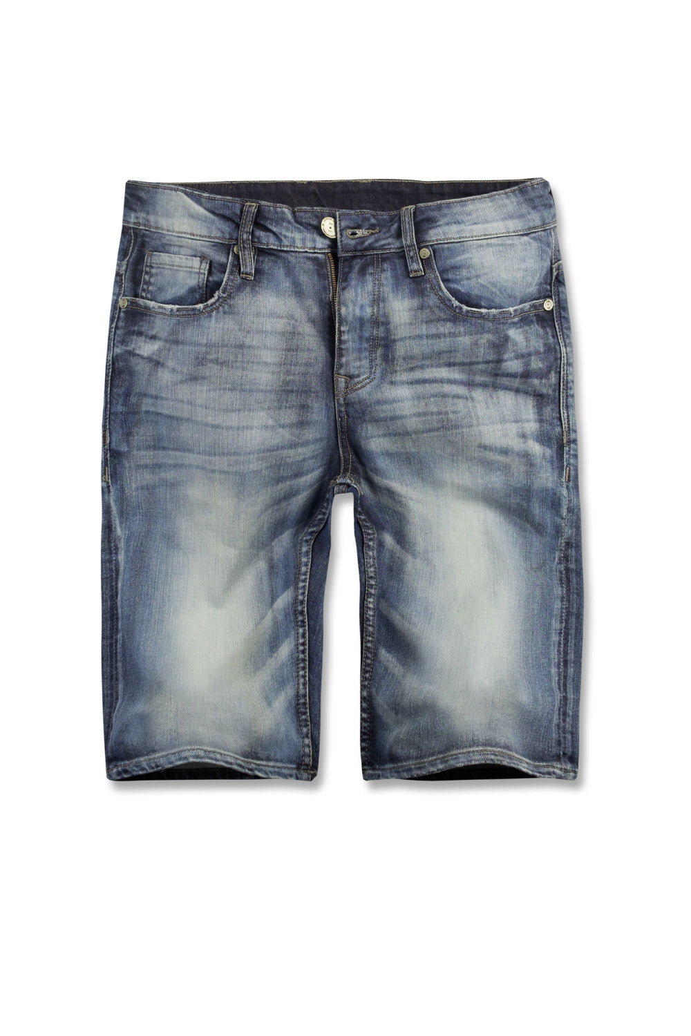 Jordan Craig - Newcastle Denim Shorts (Destroyed Blue)