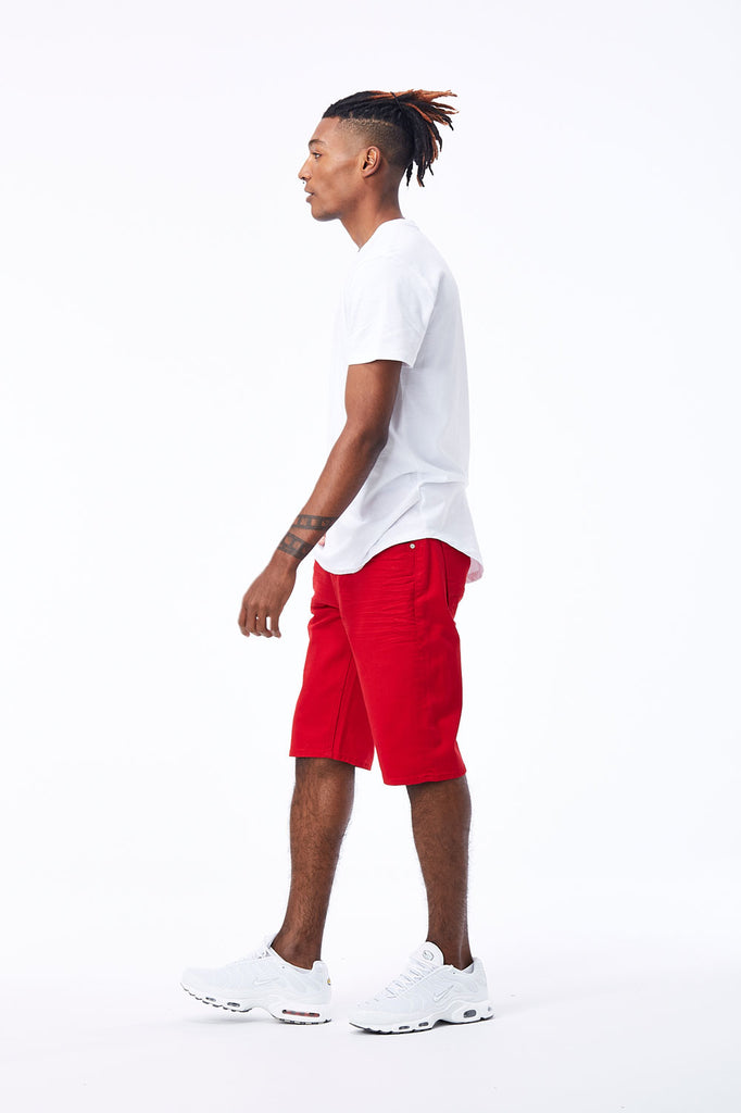 Jordan Craig - Nashville Slub Shorts 2.0 (Red)