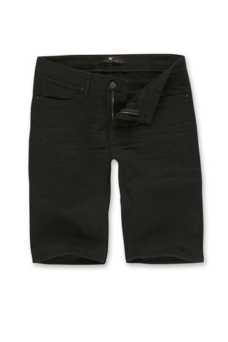 Nashville Slub Shorts 2.0 (Black)