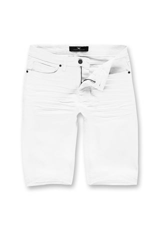 Jordan Craig - Big Men's Nashville Slub Shorts 2.0 (White)