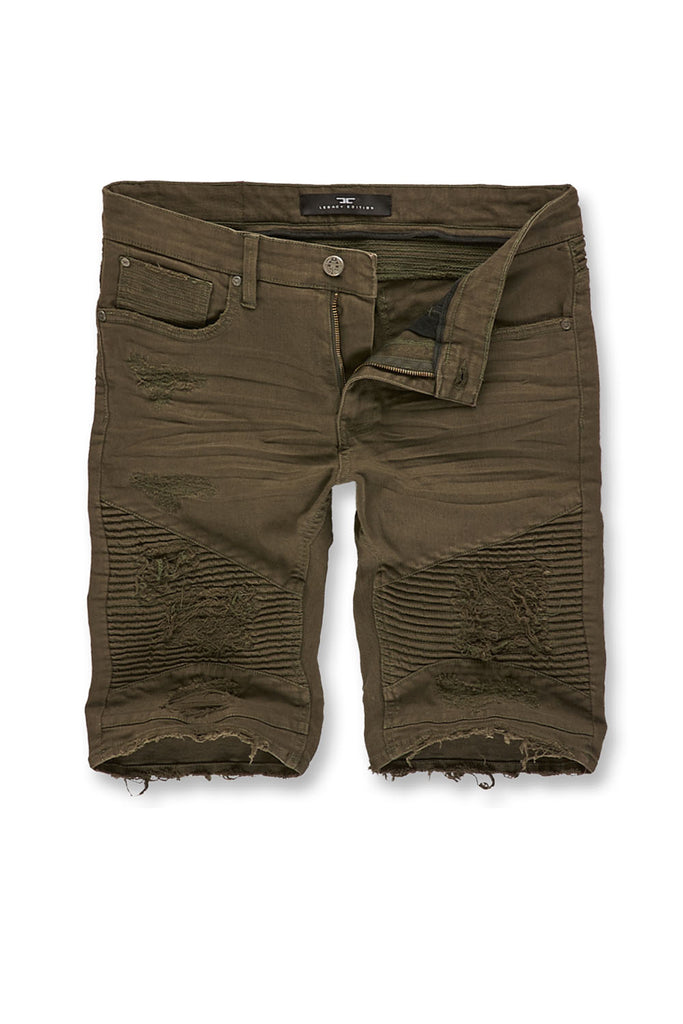 Jordan Craig - Savior Biker Shorts 2.0 (Army Green)
