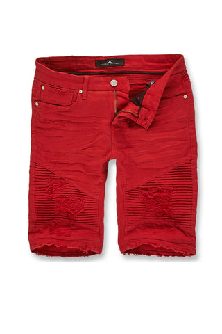 Jordan Craig - Big Men's Savior Biker Shorts 2.0 (Red)