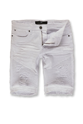 Jordan Craig - Big Men's Savior Biker Shorts 2.0 (White)