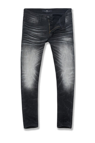 Aaron - Sevilla Denim (Industrial Black)