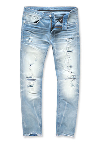 Jordan Craig - Big Men's Zion Denim (Ice Blue)