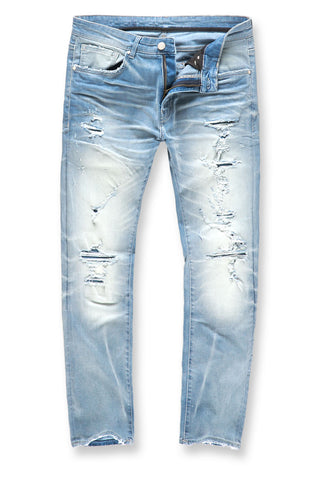Collins - Zion Denim (Ice Blue)