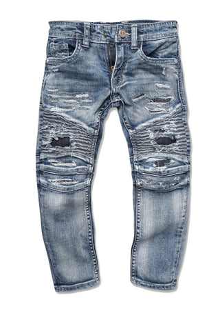 Kids - Brighton Biker Denim