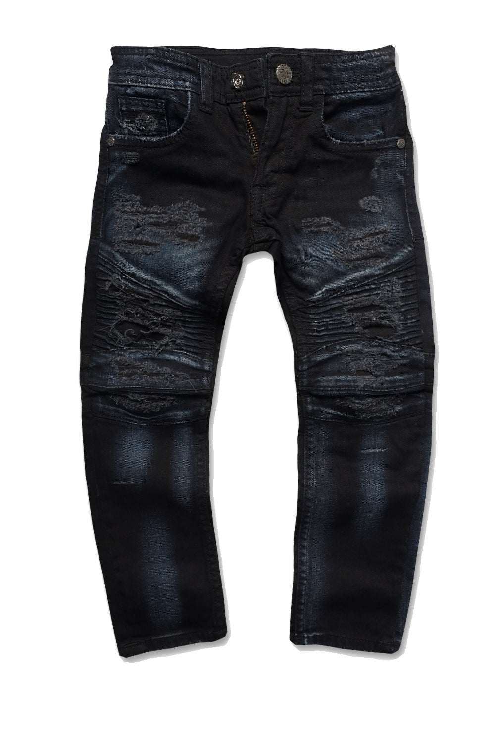 Jordan Craig - Kids - Brighton Biker Denim (Midnight Blue)