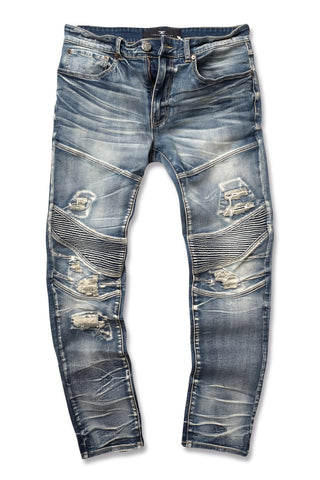 Jordan Craig - Aaron - Outlaw Moto Denim (Studio Blue)