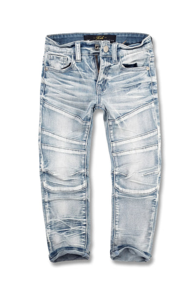 Jordan Craig - Kids - Daytona Moto Denim (Arctic Wash)