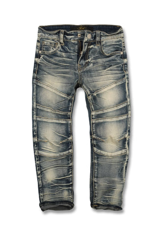 Jordan Craig - Kids - Daytona Moto Denim (Studio Blue)