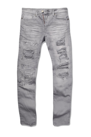 Jordan Craig - Aaron - Memphis Twill Pants (Light Grey)