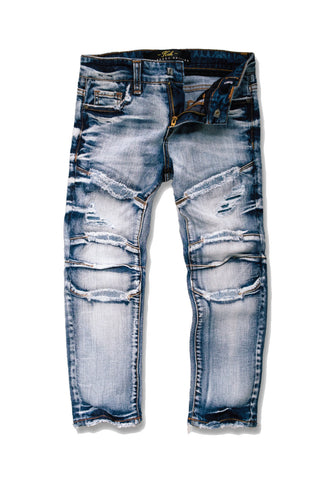 Kids - Wolverine Moto Denim (Aged Wash)
