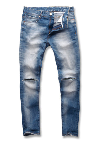 Jordan Craig - Sean - Barracuda Denim (Destroyed Blue)