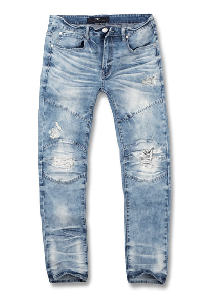 Jordan Craig - Sean - Newport Moto Denim (Arctic Wash)