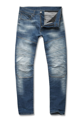 Jordan Craig - Aaron - Arsenal Moto Denim (Aged Wash)
