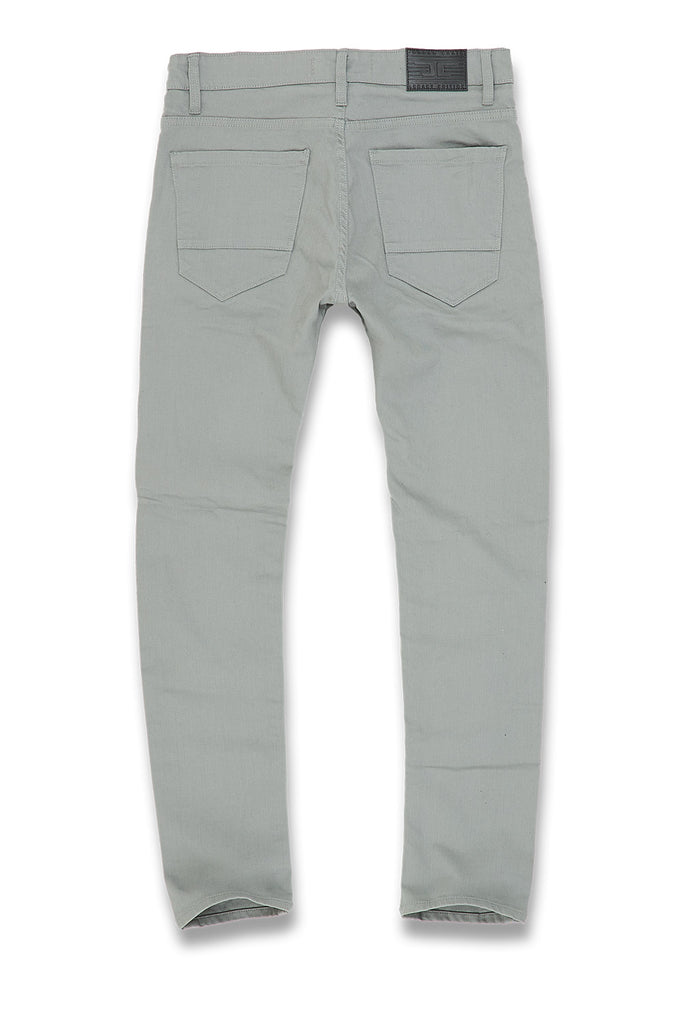 Jordan Craig - Sean - Nashville Slub Twill Jeans (Light Grey)