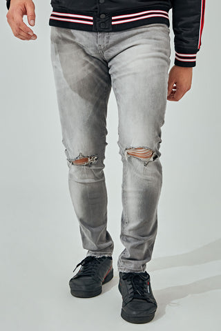 Sean - Monaco Denim (Light Grey)