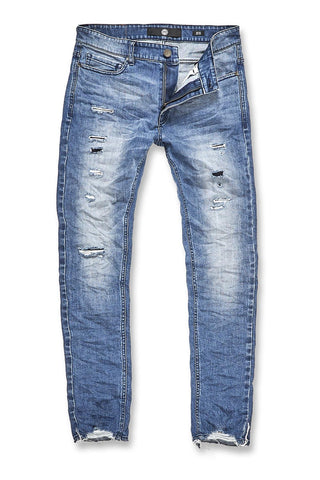 Sean - Chiseled Denim 2.0 (Medium Blue)