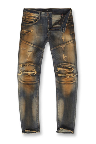 Jordan Craig - Aaron - Mercer Moto Denim (Copper Wash)