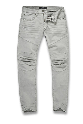 Jordan Craig - Aaron - Lexington Moto Denim (Light Grey)