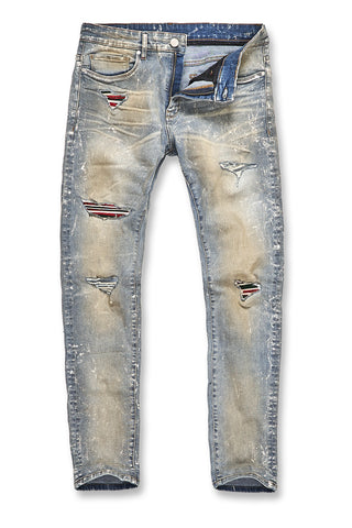 Jordan Craig - Big Men's Aaron - Tuscany Denim (Antique)