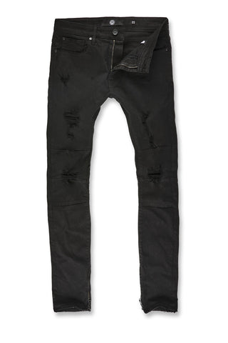 Sean - Revolt Twill Pants (Jet Black)