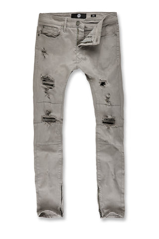 Sean - Revolt Twill Pants (Light Grey)