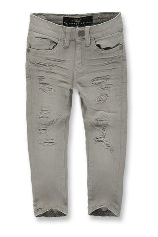 Kids Marietta Denim (Light Grey)