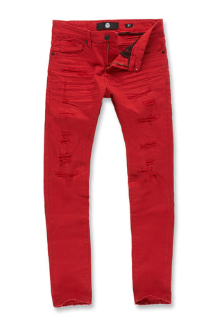 Jordan Craig - Aaron - Marietta Denim (Red)